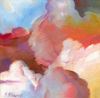 Painting - Cloudscape 3 by John Norman Stewart