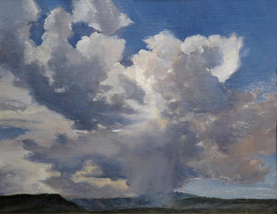 Painting - Cloudscape by Victoria  Broyles