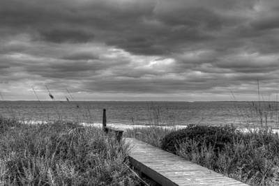 Cloudy Day In Paradise Art Print by David Paul Murray
