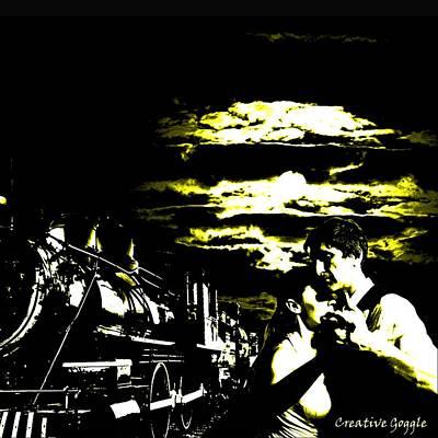 Cloudy Nights Art Print by Creative Goggle