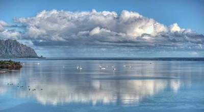 Photograph - Cloudy Reflections by Dan McManus