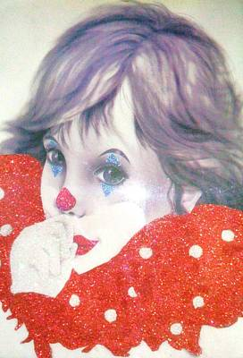 Clown Baby Art Print by Unique Consignment