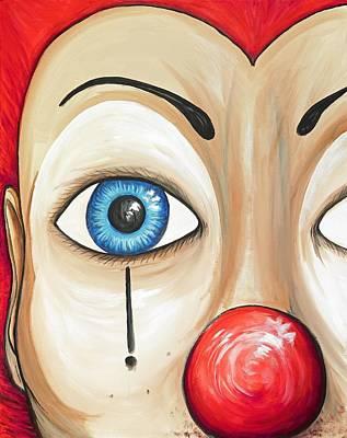 Painting - Clown Beautiful by David Junod