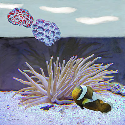 Clown Fish Digital Art - Clown Down Under by Hanson Beverly