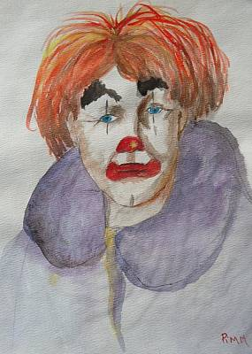 Painting - Clown School by Betty Pimm