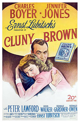 Cluny Brown, Charles Boyer, Jennifer Art Print
