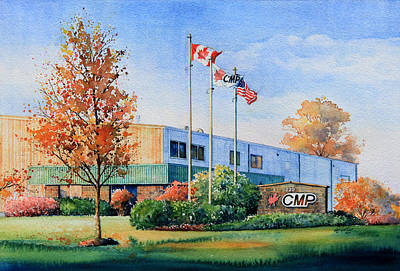 Artist Direct Order Painting - Cmp Plant by Hanne Lore Koehler