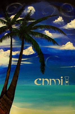 Painting - Cnmi by Michelle Dallocchio