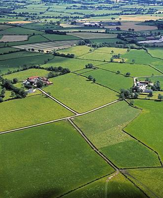Arial View Photograph - Co Fermanagh, Ireland Aerial View Of by The Irish Image Collection
