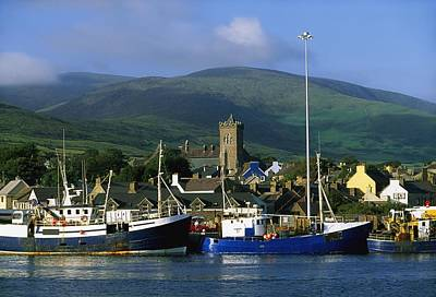 Co Kerry, Dingle Harbour Art Print by The Irish Image Collection