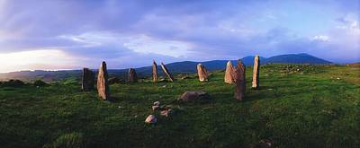 Co Kerry, Ireland, Stone Circle Art Print by The Irish Image Collection