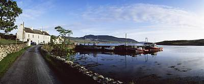 Laneway Photograph - Co Mayo, Achill Sound by The Irish Image Collection