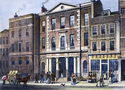 Coal Exchange, 1830 Art Print