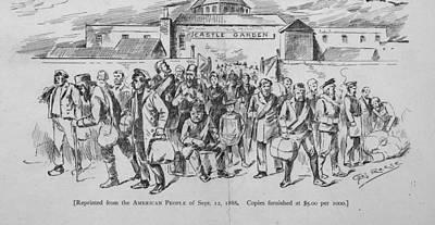 Coal Miners, Pittsburgh Pa. 1888 Art Print by Everett