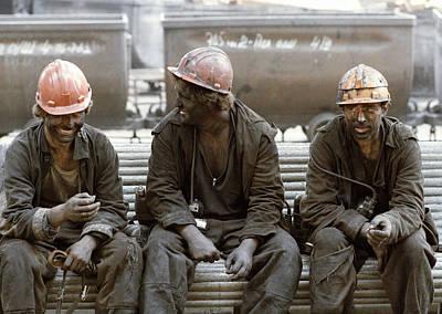 Coal Miners Art Print