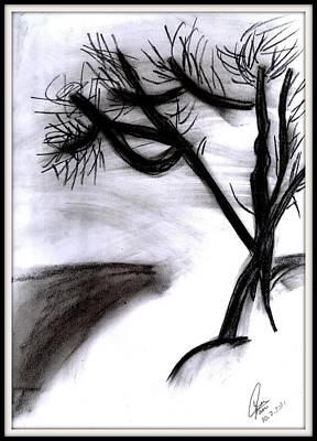 Master Piece Drawing - Coal Tree by Gaurav Patwari