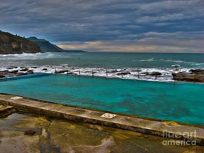 Coalcliff Ocean Pool Art Print