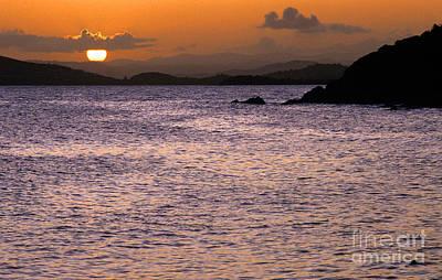 Coast Guard Beach Sunset Print by Thomas R Fletcher