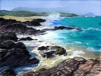 Painting - Coast Line by Sergey Zhiboedov