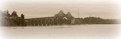 Photograph - Coastal Bridge by Kathy Sampson