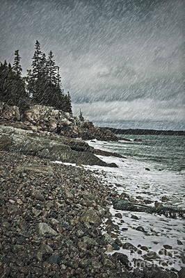 Noreaster Photograph - Coastal Gail by John Greim