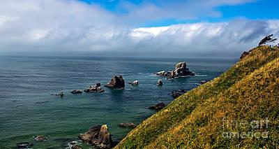 Seacapes Photograph - Coastal Look by Robert Bales