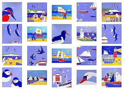 Coastal Magic Art Print by Jacqueline Walden