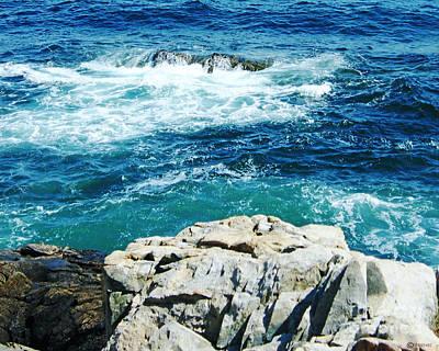 Photograph - Coastal Maine by Lizi Beard-Ward