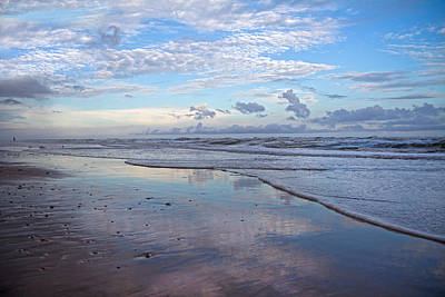 Evening Time Photograph - Coastal Reflections by Betsy Knapp