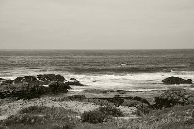 Photograph - Coastal Sea View by Kathleen Grace