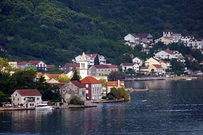 Mediterranean Photograph - Coastal Town Of Montenegro by Carla Parris