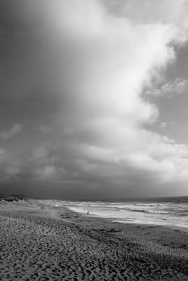 Photograph - Coastal View Iv-bw by Kathleen Grace