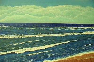 Coastal View Art Print