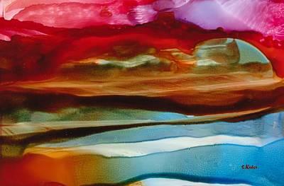 Painting - Coastal Waters by Susan Kubes
