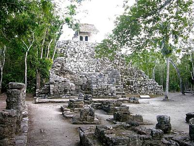 Photograph - Coba Temple by Keith Stokes
