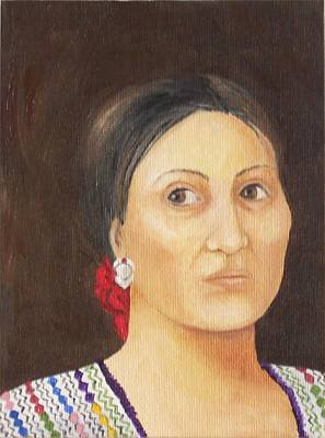 Painting - Coban Artist by Irene Corey