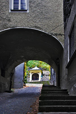 Photograph - Cobblestone Passage by Anthony Citro