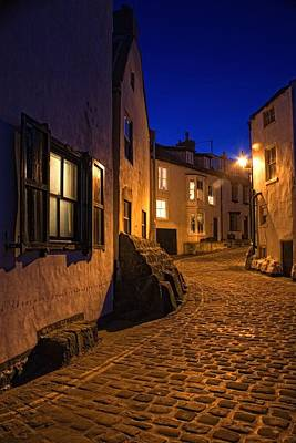 Cobblestone Road, North Yorkshire Art Print by John Short