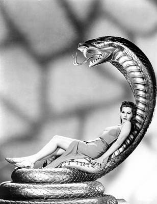 Cobra Woman, Maria Montez, 1944 Art Print by Everett