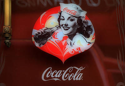Coca-cola Signs Photograph - Coca Cola Sign 1 by Andrew Fare