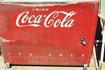 Coca Cola Art Print by Trent Mallett