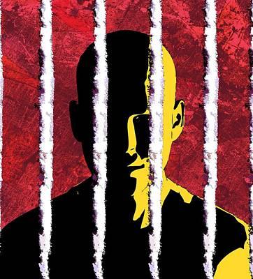 Cocaine Addiction, Conceptual Artwork Art Print by Stephen Wood