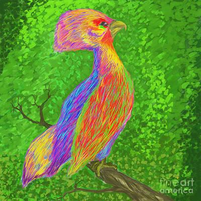 Cockatoo Digital Art - Cockatoo by MURUMURU By FP
