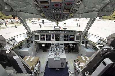 Sukhoi Photograph - Cockpit Of Superjet 100 Airliner by Ria Novosti