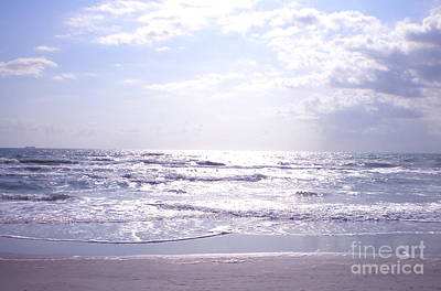 Photograph - Cocoa Beach Afternoon by Cindy Lee Longhini
