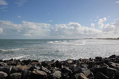 Photograph - Cocoa Beach Waves by RobLew Photography