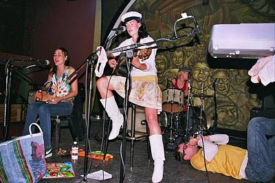 Photograph - Cocorosie With Dave Sitek by Gary Smith