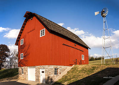 Photograph - Coddington Barn by Edward Peterson