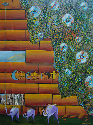 Coexist Original by Mindy Huntress