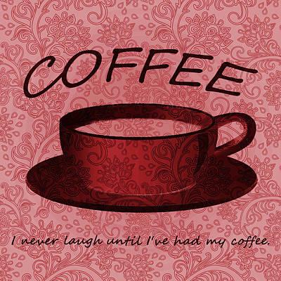 Digital Art - Coffee 2 by Angelina Vick